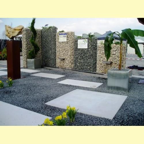moderne gartengestaltung mit steinen. Black Bedroom Furniture Sets. Home Design Ideas